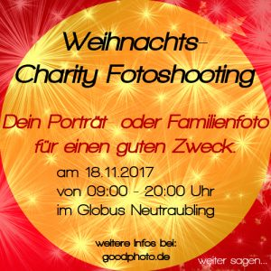 GoodPhoto Weihnachts Charity Fotoshooting 2017